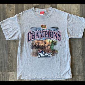 Super Bowl XXXVIII Patriots Championship T-shirt